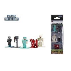 Figurine - Minecraft- Set 5 figurine metalice