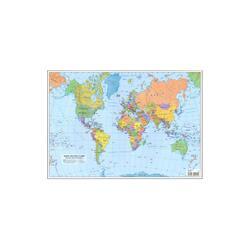 Plansa harta lumii A3 fata/verso