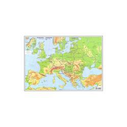 Plansa harta Europa A3 fata/verso