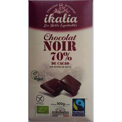 Ciocolata neagra - 70% cacao Bio
