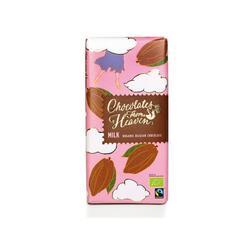 Ciocolata cu lapte - Chocolates from Heaven - Bio