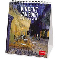 Calendar 2021 - Vincent Van Gogh, 12x14.5 cm