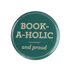 Insigna - Book-A-Holic and proud
