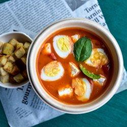 Supă cremă de ardei copt