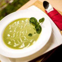 Supă cremă verde
