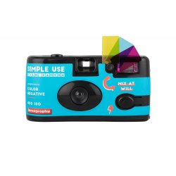 Aparat foto - Simple Use Film Camera Blue