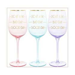Pahar pentru vin - Lets Party - mai multe culori image