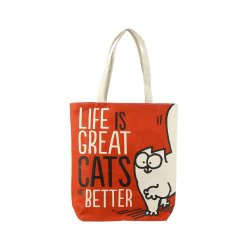 Tote Bag - Simon's Cat, Life is Great image