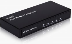 Spliter HDMI 4 ieșiri FullHD V1.3 Well