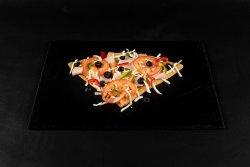 40% Reducere: Clătită cu mozarella, șuncă, roșii, ardei gras, măsline image