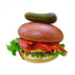 Chilly Angus Burger image