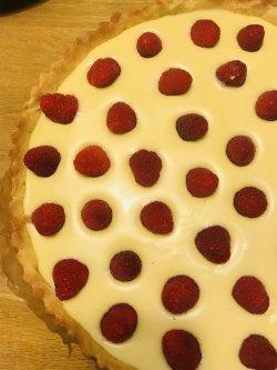 Tarte Chocolat Blanc Framboise image