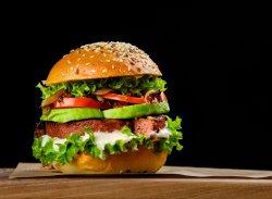 Burger Vegetarian și Magic image