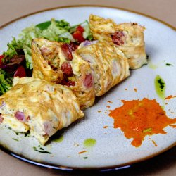 Sausage party omelette image