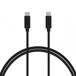 Cablu USB-C - USB-C Choetech CC0002, 1m, negru