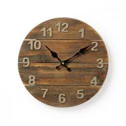Ceas de perete rama de lemn 30 cm Nedis