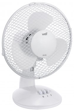 Ventilator de masă 27cm 30W, Well