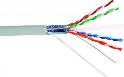 Cablu FTP cat.6, 8 fire din cupru, 1ml, Well