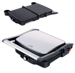 Grill electric Life Grill Time, plăci antiaderente 29.7 x 23.5 cm, 2000W