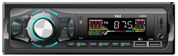 Radio auto Well Show, Bluetooth, Slot USB si SD, 4x40W