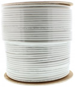 Cablu coaxial RG6, 75R,fire otel cuprat,ecranat cu folie Al+Al&Mg 48X0.12, 1 ml, Well