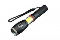 Lanterna LED reincarcabila 10W+COB Well