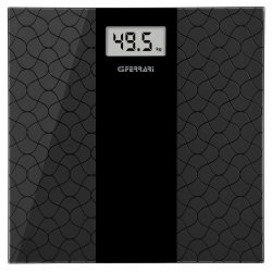 Cântar de baie digital G3Ferrari Oro-Nero, afisaj LCD, negru