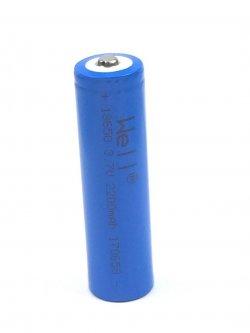 Acumulator industrial Li-ion terminal cu varf 18650 3.7V 2200mAh Well