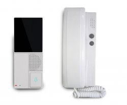 Interfon audio cu conexiune la 2 fire, Well