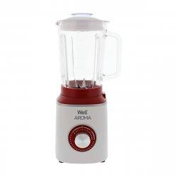 Blender Aroma 600W 2 viteze și puls 1.5l Well