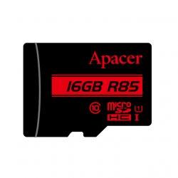 Card microSDHC UHS-I Apacer, 16GB, clasa10 cu adaptor SD