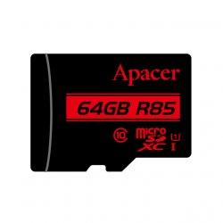 Card microSDXC UHS-I Apacer, 64GB, clasa10 cu adaptor SD
