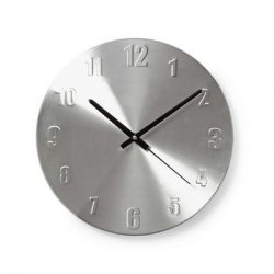 Ceas de perete aluminiu 30 cm Nedis