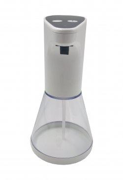 Dozator automat de săpun cu senzor Well, 480ml, alb/negru