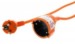 Cablu prelungitor 10m 1.5mm portocaliu IP20, Well