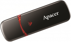 Memorie flash USB 2.0 16GB negru, Apacer