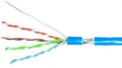 Cablu FTP cat.5e, 8 fire din cupru, 1ml, Schrack