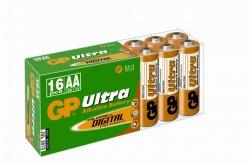 Baterie alcalină Ultra R6 (AA) 16 buc/cutie GP