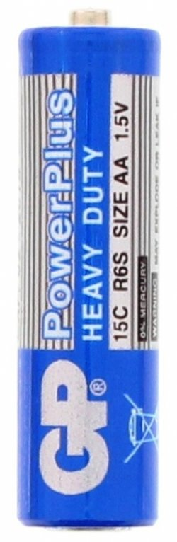 Baterie zinc Powerplus GP AA (R6) înfoliată
