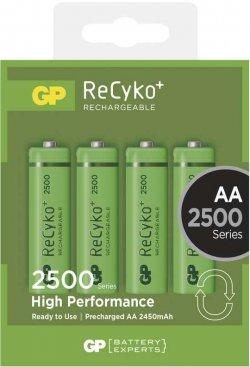Acumulator AA (R6) GP NiMH Recyko+ 2500mAh 4 buc/blister