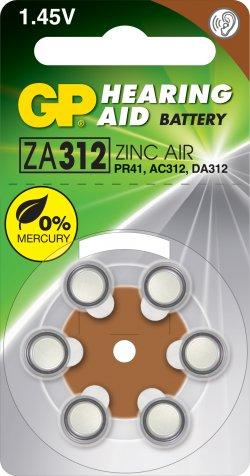 Baterie pentru aparat auditiv GP 7.9X3.6 mm