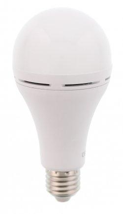 Bec cu led cu acumulator A60 E27 7W 230V lumină rece Well
