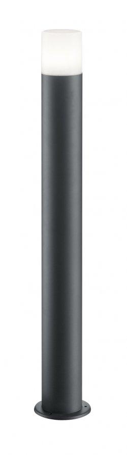 Lampă de gazon Well Roma E27 60W IP44 80cm gri închis