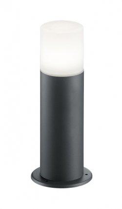 Lampă de gazon Well Roma E27 60W IP44 40cm gri închis
