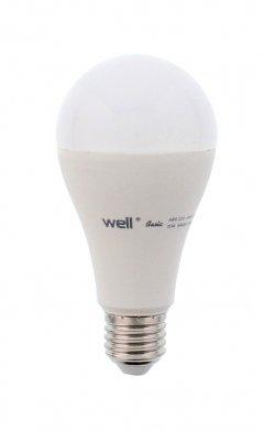 Bec cu led A65 E27 15W 230V lumină naturală Basic Well