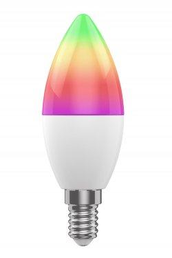 Bec LED Smart WiFi Woox R9075, E14, 5W, Color