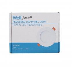 Panou LED Well rotund 4W 106mm 4000K 200lm