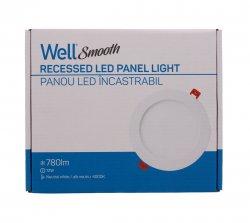 Panou LED Well rotund 12W 175mm 4000K 780lm
