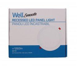 Panou LED Well rotund 18W 222mm 4000K 1260lm