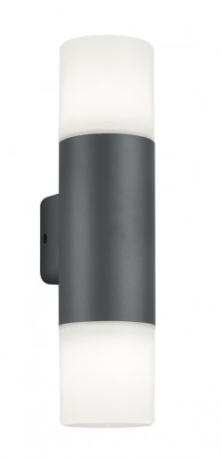 Aplică perete exterior Well Roma E27 60W IP44 gri închis